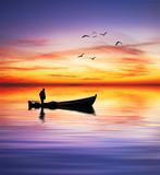 Fototapety el ultimo barquero