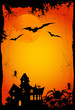 halloween background or invitation