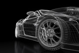 Fototapety Sport car