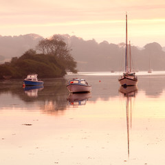 Moored at dawn