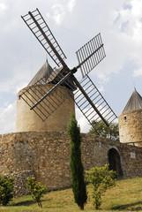 Moulin à vent de Régusse