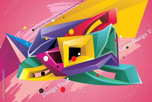 vector tridimensional en vector © ighost