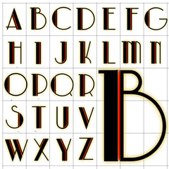 abc alphabet background park lane design