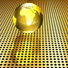 Golden Globe Background