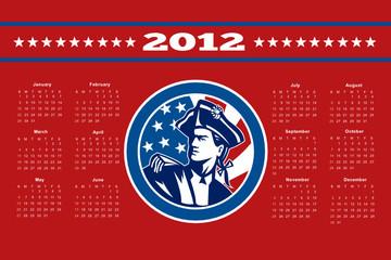 American Patriot Calendar 2012