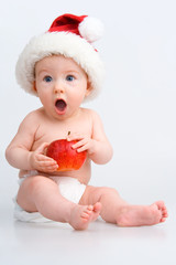 Surprised infant