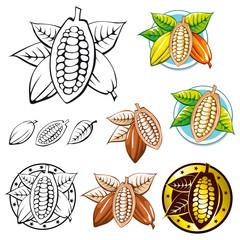 cocoa bean symbols