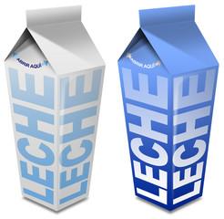 Leche carton - Milk carton