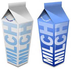 Milch carton - Milk carton