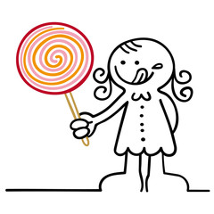 figur mit lollipop