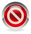 "red vector button ""stop"""