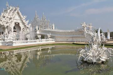Fantastic beauty White Temple