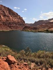 Colorado River water is cold