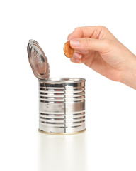 Coin Bank, concept of savings or Donation