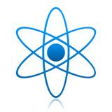 Fototapeta cząsteczkowa - cząsteczka - Znak / Symbol