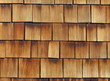 Holzschindeln - wood shingles