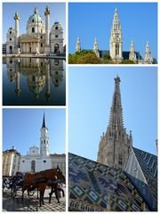 Des monuments de Vienne