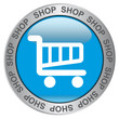 SHOP  (Blue Button with Symbol)
