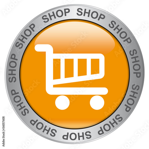 SHOP  (Yellow Button with Symbol)