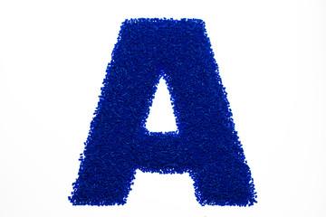 Kunststoffalphabet - A
