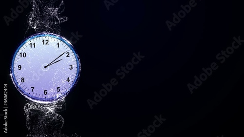 Clock Background - HD1080