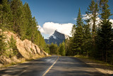 Scenic route in Banff National Park