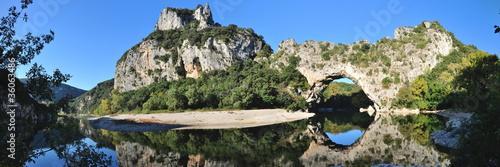 Papiers peints Riviere Pont d'Arc sur l'Ardèche
