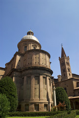 La basilica di San Domenico dal Chiostro, Bologna