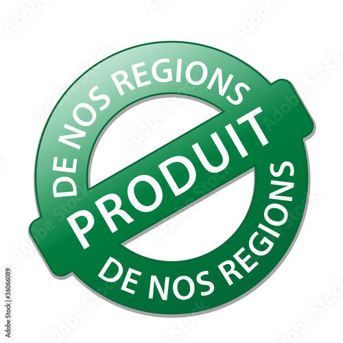 Tampon PRODUIT DE NOS REGIONS (terroir biologique local naturel)