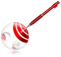 Target pencil