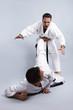 Karate vs Taekwondo, Partnertraining 06