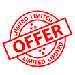 """LIMITED OFFER"" Marketing Stamp (sale special offers sticker)"
