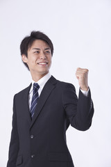 A young Japanese businessman