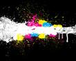 Beautiful Color Paint Splashes