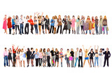 2 large groups. Groups of business youth series poster
