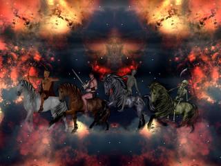 The Four Horsemen of the Apocalypse.