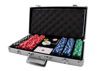 Big poker set