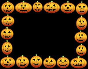 pumpkins frame