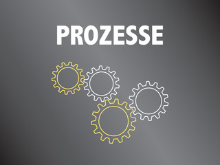 Powerpoint Vorlage - Prozess - Aktivitäten