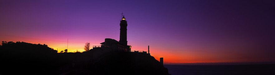 Faro de Cabo Mayor (composicion panoramica)
