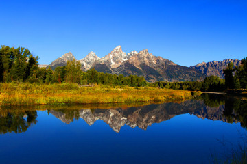 Schwabachers Landing in the Grand Tetons