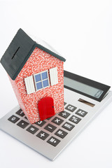 Model house and calculator