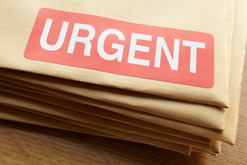 Urgent documents for despatch