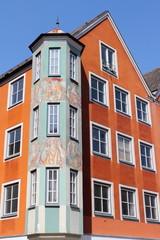 Giebelhaus mit Erker