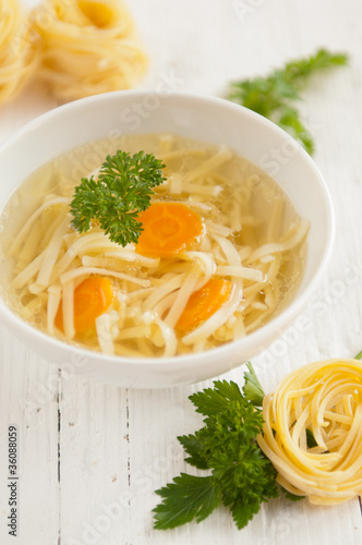 Traditional Polish Chicken Broth