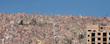case sulle colline di la paz in bolivia