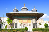 Fountain Kiosk of Ottoman Sultan Ahmed III, built in 1728 poster