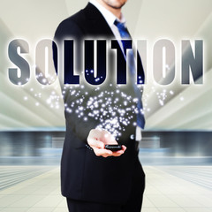 Lösungen anbieten