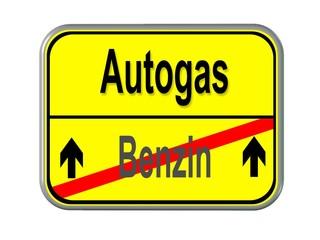 Benzin - Autogas