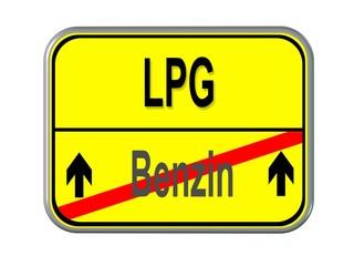 Benzin - LPG